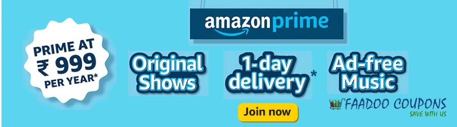 Amazon Prime subscription offers