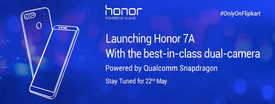 honor 7A on Flipkart