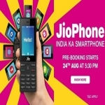 Jio Mobile Phone Booking Online at Rs 1,500 FREE on Flipkart, Amazon Store Buy Online Starts