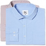 Amazon Shirt Offer: Get Upto 80% OFF on Ex by Excalibur Men's Solid Regular Fit Formal Shirts, [Pack Of 2 shirts @ Rs 405 Only]