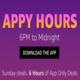 Amazon Appy Hours Blockbuster Deals: App Only Deals From 6 PM To 12 PM Midnight Today