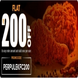 Perpule KFC Offer: Get Flat Rs 200 Off On KFC Order For All User Via Perpule App [No Min Order]