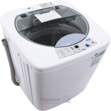 Buy Haier 6 kg Fully Automatic Top Load Washing Machine White (HWM 60-10) from Flipkart just at Rs 10,499 only, Extra 10% Instant Discount with Axis Bank Credit/Debit cards