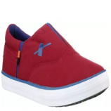 Buy Sparx Canvas Awesome Red Slip On Sneakers For Men (Red, Blue) just at Rs 499 only from Flipkart