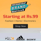 Shopclues Wednesday Brand Bazaar Sale: Get Products starting just at Rs 99, Get Extra Flat Rs 50 Off on all Prepaid Orders