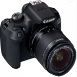 Buy Canon EOS 1300D DSLR Camera Body with Single Lens: EF-S 18-55 IS II (16 GB SD Card + Carry Case)  (Black) at Rs 21,990 from Flipkart