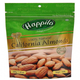 Buy Happilo Premium 100% Natural Californian Almonds, 200g (Pack of 5) at Rs 825 only from Amazon