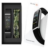 Blink GO Silver Case Fitness Wearable Band at Rs 1679 from Myntra