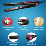 Buy Nova Pro Shine NHS 840 Hair Straightener upto 80% OFF from Myntra at Rs 299 only