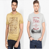 Jabong Offers - CELIO Men's Polos & T-shirts at Minimum 55% OFF + FREE Shipping