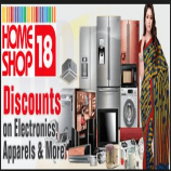 Homeshop18 Coupons & Offers - Upto 83% Off on Women's Clothing May 2018