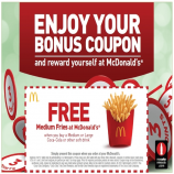 McDonalds Coupons & Offers: Free Burger on Orders Above Rs. 319 - May 2018