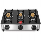 Buy Pigeon Favorite 3-Burner Glass Cooktop at Rs 1858 Only from Pepperfry
