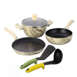 Buy Wonderchef Picasso Cookware Set With Free Spoon & Spatula at Rs 2,639 Snapdeal