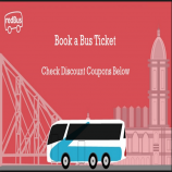 RedBus Booking Offers Coupons: Upto 25% Off On Online Bus Ticket - October 2017