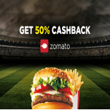 Zomato Coupons offers: Flat 50% Off On First Order & Existing Users - December 2017