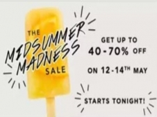 Myntra Midsummer Madness Sale: Get Upto 40% - 70% OFF in Summer Sale + Extra 10% Instant Discount Via Airtel Money