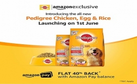 Amazon Pedigree Offer : Book Your Pedigree Products And Get Flat 40% Cashback with Amazon Pay Balance