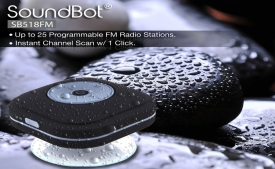 Buy SoundBot SB518FM FM Radio Shower Speakers just at Rs 399 Only from Amazon