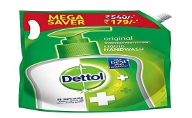 Buy Dettol Liquid Hand wash Refill Original -1500 ml in Just Rs 129 only from Amazon (Apply 20% OFF Coupon)