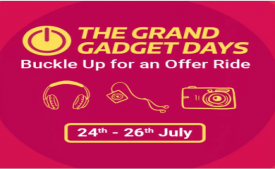 Flipkart The Grand Gadget Days Sale: Grab Best Offers on Mobiles, TV's, Laptops, Camera, Memory cards, Powerbanks and many more