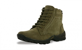 Buy Bacca Bucci Mens Olive Genuine Leather Boots just at Rs 417 only from Amazon