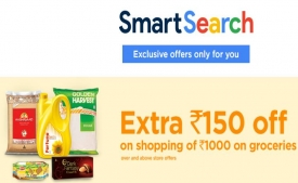 Bigbazaar Smart Search Offer: Get Rs 150 Discount Coupon For Shopping at Bigbazaar on 1st Feb 2019