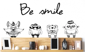 Buy PVC Vinyl Wall Stickers starting just at Rs 39 only from Flipkart