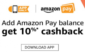 Amazon Pay Balance Offers: Get Rs 250 Cashback On Adding Money Rs 5000 as Amazon Pay Balance [All Users]