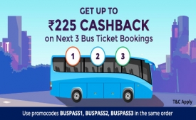 Paytm Bus Booking Offers: Get Flat 100% cashback upto Rs 200 On Bus Ticket Bookings available only on Paytm