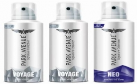 Buy Park Avenue Signature- Voyage, Neo Deodorant Spray- For Men (420 ml, Pack of 3) just at Rs 359 only on Flipkart