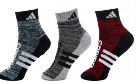 Buy ADIDAS Men & Women Ankle Length  (Pack of 3) just at Rs 220 only from Flipkart