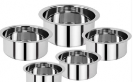 Buy Renberg Steel without Lid Tope Set  (Stainless Steel) just At Rs 349 Only From Flipkart