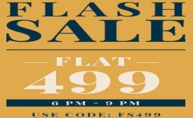NNNOW Coupons & Offers: Buy Mens Clothing At Flat Rs 499 Price From Nnnow [Till 9PM Today]
