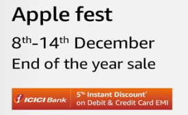 Amazon Apple Fest Offers: Get Upto Rs 16,000 OFF on Apple Iphone, Macbook, Tablets, Watches