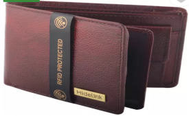 Buy Hidelink Men Formal Brown Genuine Leather Wallet (6 Card Slots) at Rs 449 Only from Flipkart