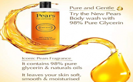 Buy Pears Pure and Gentle Shower Gel, 250ml  from Amazon at Rs 74 only