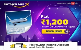 Flipkart Flight Booking Offers: Get Flat Rs 1200 Instant OFF On Domestic Flight Bookings [5th To 6th Jan 2019]