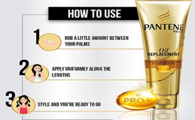 Buy Pantene Oil Replacement, 180ml from Amazon at Rs 75 only
