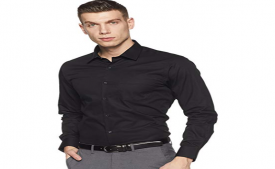 Buy Amazon Brand - Symbol Men's Solid Regular Fit Formal Shirt (Pack of 2) at Rs 399 Only from Amazon