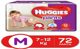 Buy Huggies Wonder Pants Medium Size Diapers (72 Count) at Rs 499 only from Amazon