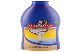 Buy Meera Pure Coconut Hair Oil, 500ml at Rs 99 from Amazon