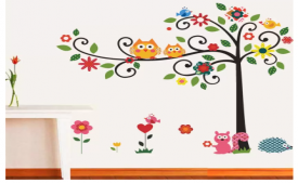 Flipkart Wall Sticker Offer: Get upto 90% OFF on New Way Decals wall Sticker starting just at Rs 59 only