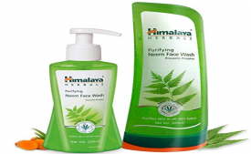 Buy Himalaya Neem Face Wash, 200ml and Himalaya Herbals Purifying Neem Face Wash, 300ml just at Rs 197 Only from Amazon
