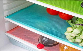 Buy Kuber Industries PVC 6 Piece Refrigerator Drawer Mat Set - Multicolour at Rs 149 only From Amazon
