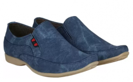 Buy Kraasa  NewLook Loafers For Men (Blue) at Rs 360 Only from Flipkart