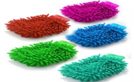 Buy Mayatra's Pack of 5 Microfiber Double Sided Dusting Cleaning Glove for Home Office Kitchen Hotel at Rs 199 from Amazon