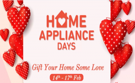 Flipkart Home Appliance Days Offers [14th-17th Feb]: Get Upto 50-80% OFF on Televisions, Kitchen Appliances and Home Appliances, Extra 10% Discount Using AXIS Bank Card