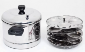 Buy Tallboy Standard Idli Maker (4 Plates, 16 Idlis) at Rs 528 only From Flipkart