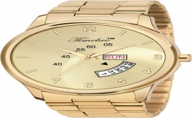 Buy Timebre MXGLD221-5 Original Gold Plating Analog Watch- For Men just at Rs 483 only from Flipkart